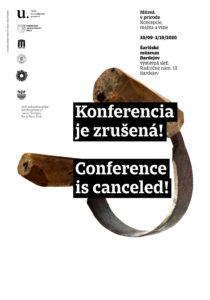 Konferencia UMP je zrušená